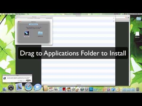 Set Your ScreenSaver as Wallpaper - Mac OS X [HD]