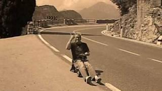To fast to be furious - Bobbycar highvelocity ride at Garda lake in Italy