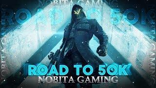 ||Nobita Gaming Live |DAY 281|Ace Pe Jaaneki NaKamYab Koshish😂😂 ...Road To 50k......❤️❤️