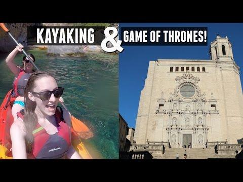 KAYAKING & GAME OF THRONES SET! GIRONA