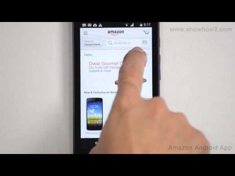 Amazon Android App - How To Create An Account On Amazon