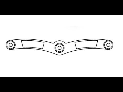 2D AutoCAD practice drawing