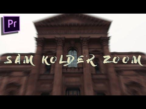 Sam Kolder Smooth Zoom Transition (EASY)[Adobe Premiere 2017]