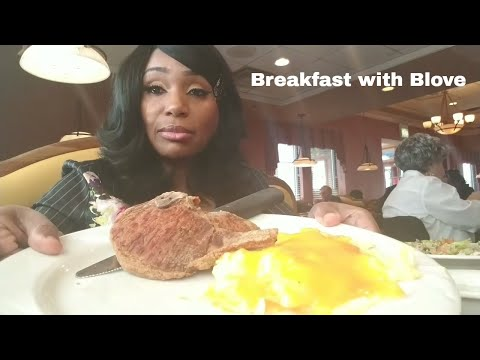 Lume's in Chicago, Grits, chessy eggs, pork chops, hash browns, toast, chopped salad