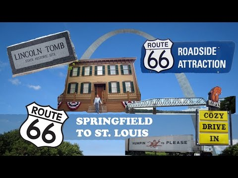 Route 66 Road Trip Day 2 - Springfield to St Louis