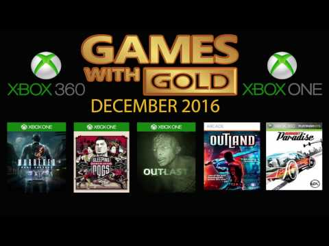 Games with Gold Dec 2016 - Xbox One - Xbox 360