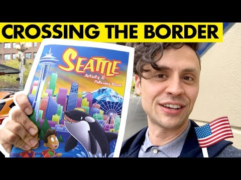 My CROSSING THE BORDER adventure!