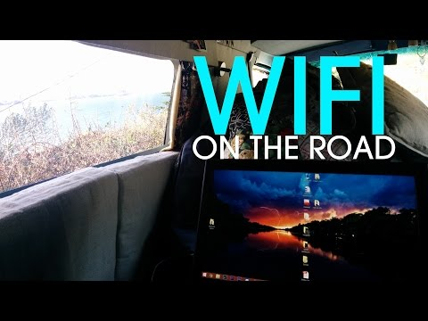Get Free WiFi on the Road - Vanlife