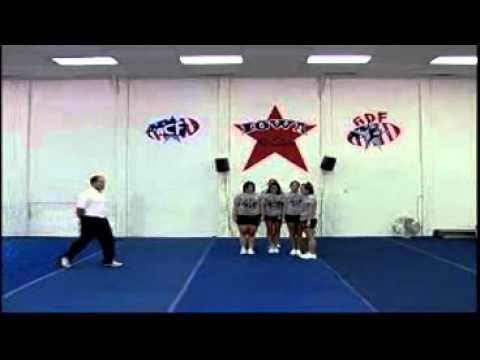 Advanced Cheerleading Stunts