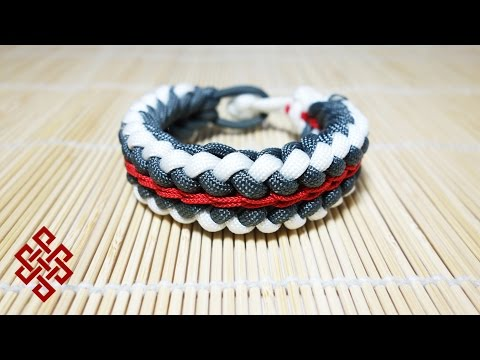How to Make a Sanctified Paracord Bracelet Endless Falls Tutorial