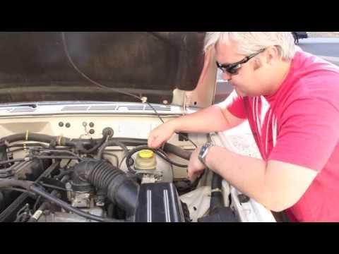 1996 Jeep Cherokee 4.0 -  How to replace the Power Brake Booster and Master Cylinder