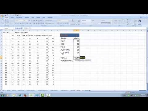 ADVANCED EXCEL INDEX AND MATCH FORMULA  WITH USEFUL DATA