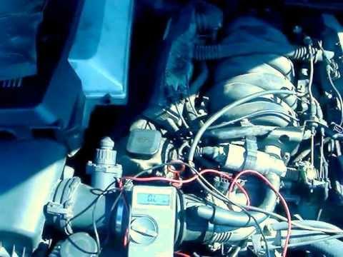 How to check your crankshaft position sensor on a BMW 740 (e38)