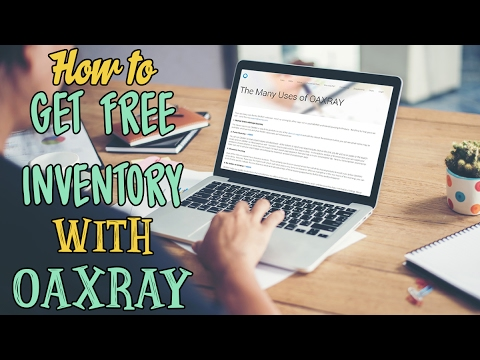 4 Ways to get free inventory for amazon fba sourcing using Oaxray for online arbitrage  for fba