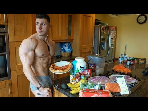 Brandon Harding - Shredding Diet - Meal by Meal