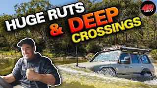 WHAT DID WE BREAK THIS TIME!? Lithgow Tough 4x4 Tracks Part 2 with Shauno, Graham & Jocko!