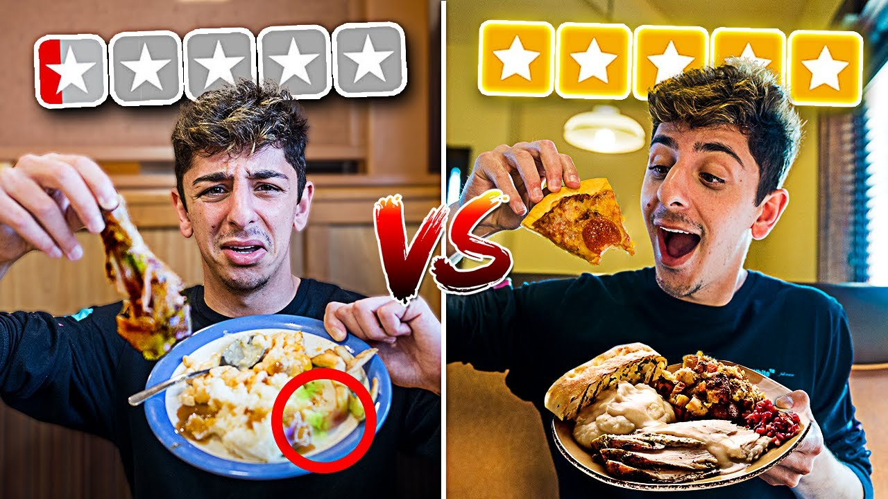 WORST REVIEWED BUFFET VS BEST REVIEWED BUFFET! **we found this**