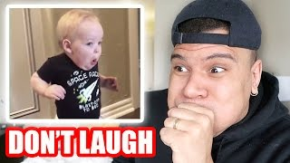 TRY NOT TO LAUGH CHALLENGE! *IMPOSSIBLE*