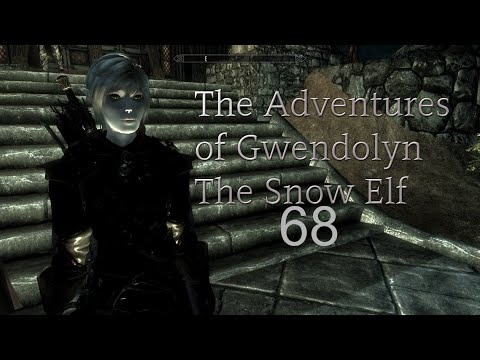 Skyrim: Gwendolyn the Snow Elf (Part 68) Horse Carrige Riding