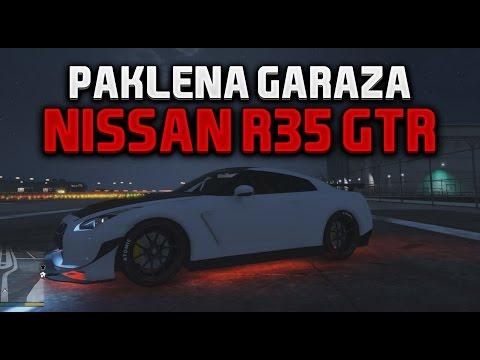 NISSAN R35 GTR - PAKLENA GARAZA GTA 5 #3