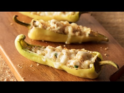 Ricotta Stuffed Hot Peppers
