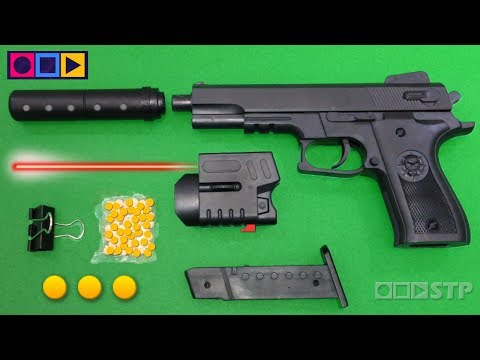 Realistic Toy Gun Airsoft - Ball Bullet Shooter Toy Pistol - Pellet Spring Weapon Toys