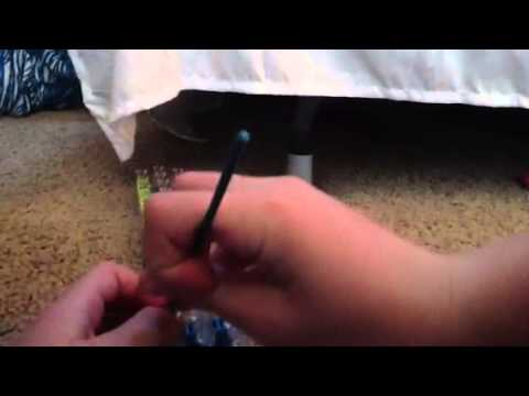 How to make a snake tail rainbow loom
