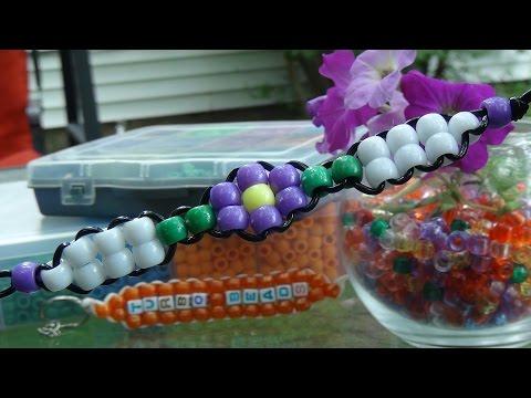 TurboBeads: Bead Flower Bracelet Tutorial