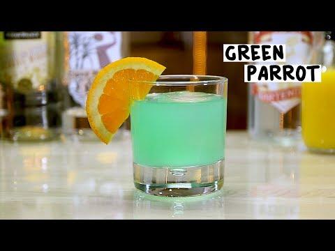 Green Parrot - Tipsy Bartender
