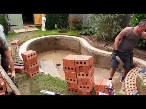 New Pond Build Part 3.
