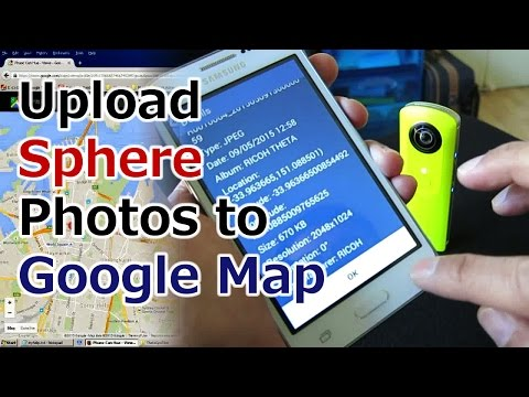 How to Upload Sphere Photos to Google Map