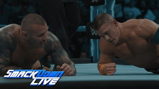 Watch slow motion footage as John Cena takes on Randy Orton: SmackDown LIVE Exclusive, Feb. 7, 2017