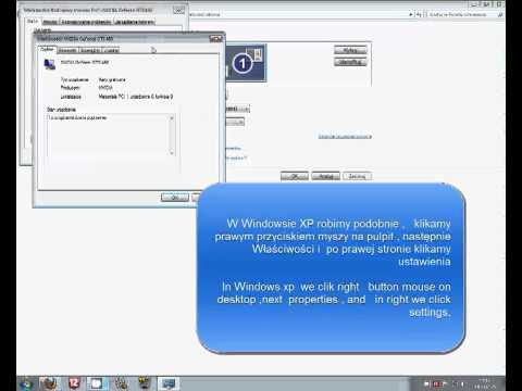 Jak sprawdzić swoją karte graficzną Windows7/Windows XP POLISH AND ENGLISH [HD]