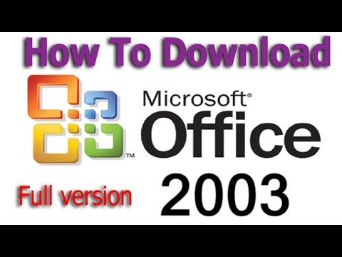 How To Download Microsoft Office 2003 Full Version Bangla Video Tutortrial 2018 #Azmol Photoshop