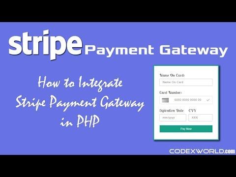 Stripe Payment Gateway Integration in PHP