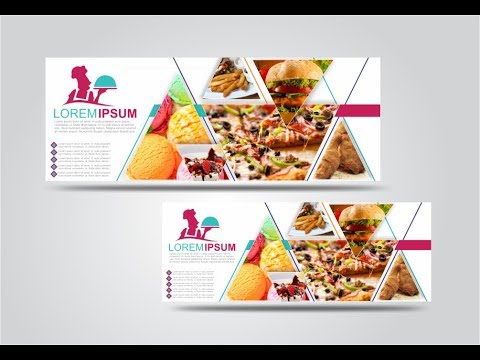 Food Banner Design Tutorial in CorelDraw x7 by AS Graphics
