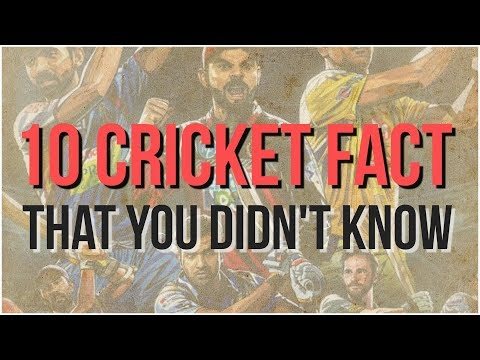 10 cricket fact that you didn't know | Simbly Chumma