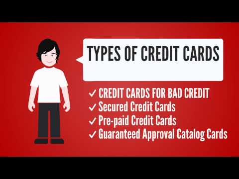 How To Get Approved For Bad Credit Credit Cards