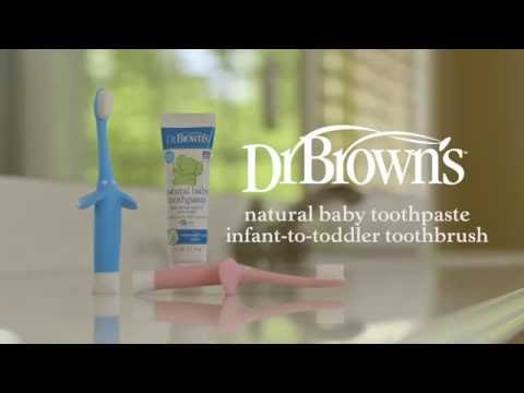 Dr. Brown's™ Infant-to-Toddler and Dr. Brown's™ Natural Baby Toothpaste