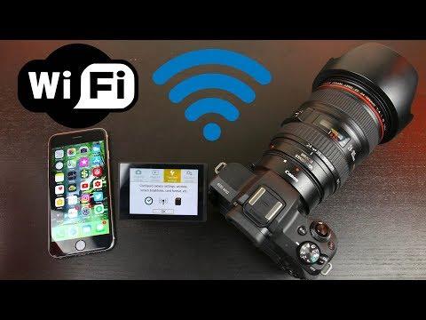 Canon EOS M50 Wifi Setup