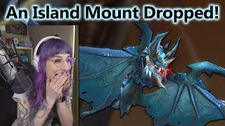Island Mount Drop! Stream Reaction Highlight