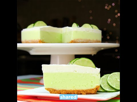 Frozen Margarita Cake