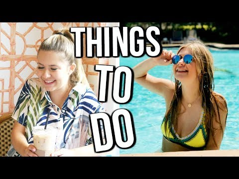 THINGS TO DO DURING SUMMER | Summer Bucket List 2017