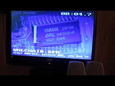 Adlib Tracker 2 On The Dell Dimension 4100 Using The SoundBlaster 64V