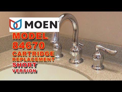 Moen Faucet Cartridge Replacement Model 84670 Eliana: SHORT VERSION
