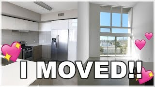 I Moved!! Empty (and Dirty Lol) House Tour! Roxette Arisa Vlogs