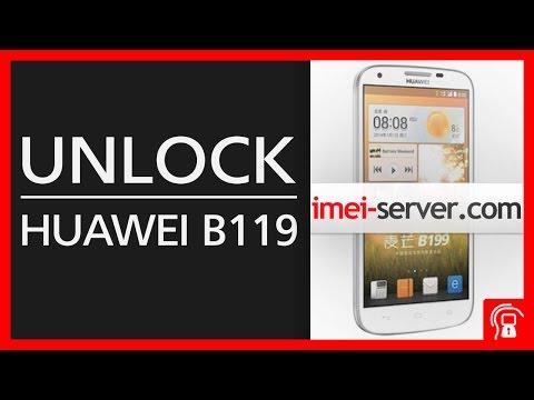 Unlock Huawei B199 by MEID [SPC code]