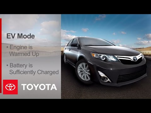 2012 Camry Hybrid How-To: Drive Modes | Toyota