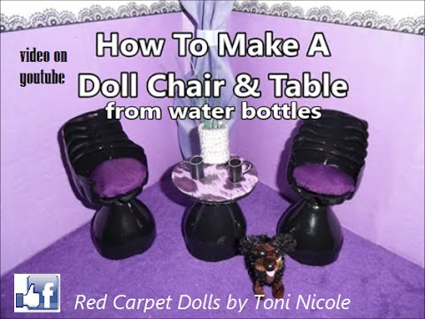 How To Make A Doll Chair & Table