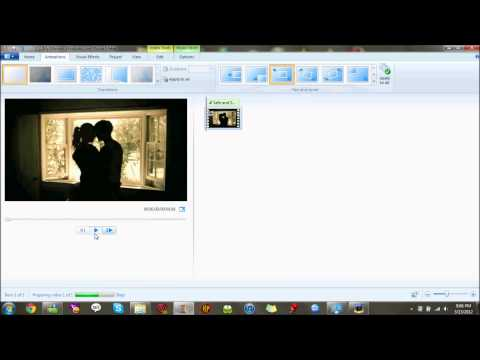 How to Make a Music Video using Windows Live Movie Maker